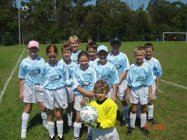U10/7 Team Photo - 2 April, 2004