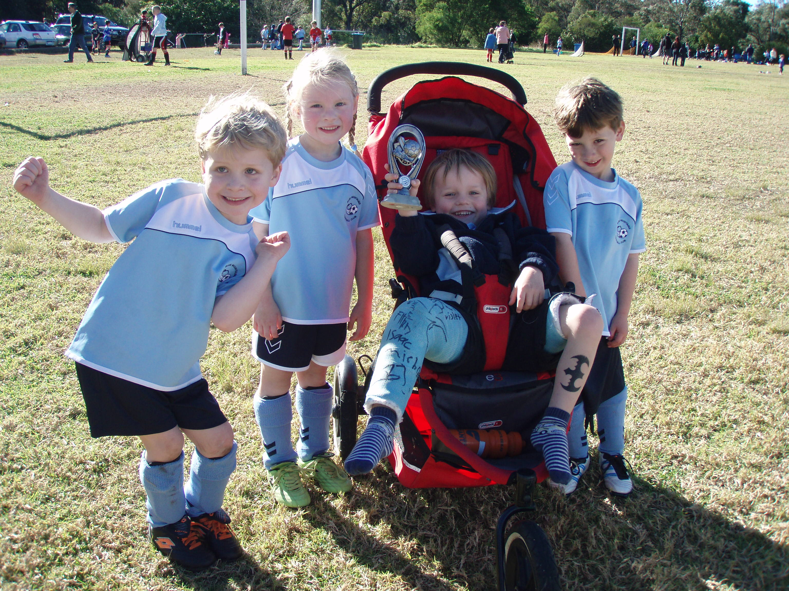 Match Report U5 Hawks (26-05-2012)