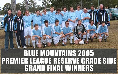 Match Report Prem Res – 4 September, 2005 **Photo**