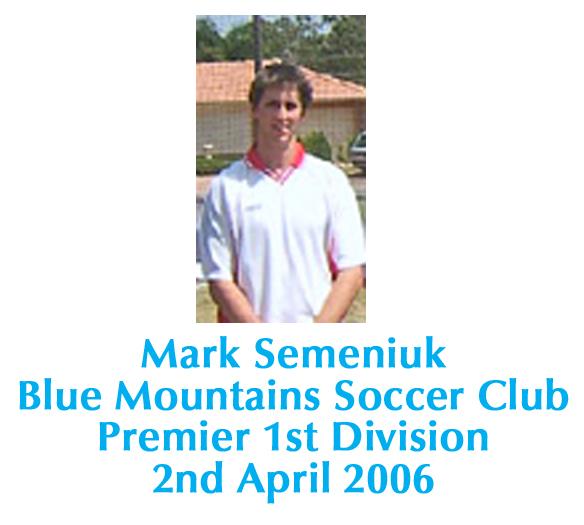 Match Report Prem – 2 April, 2006